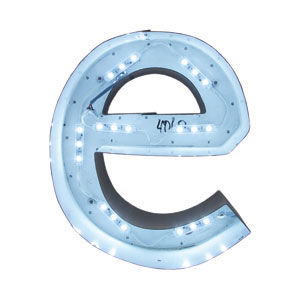 Led Lighting Accessory In Wall Rated Two Conductor Wire
