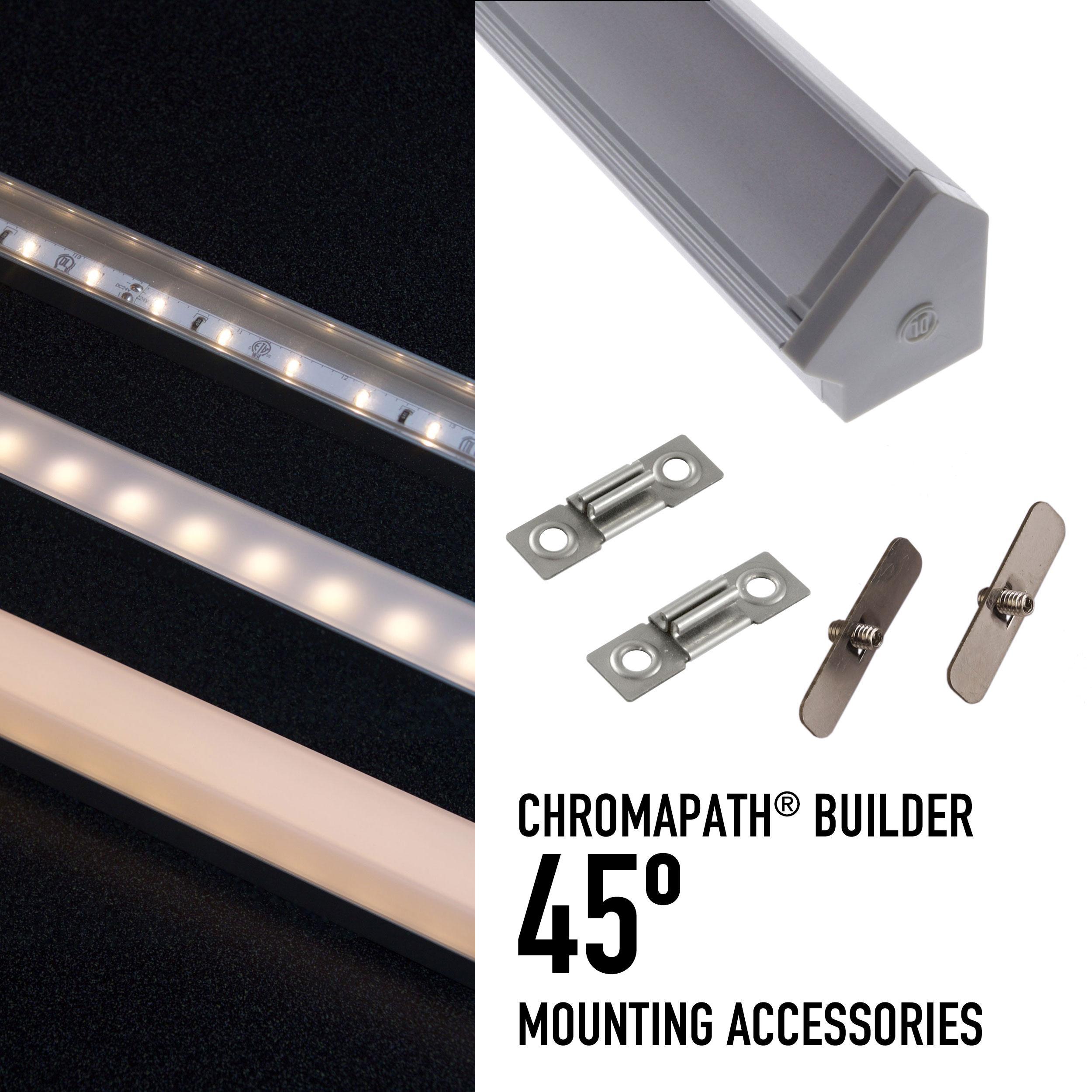CHROMAPATH® Builder Channels & Accessories - 45º