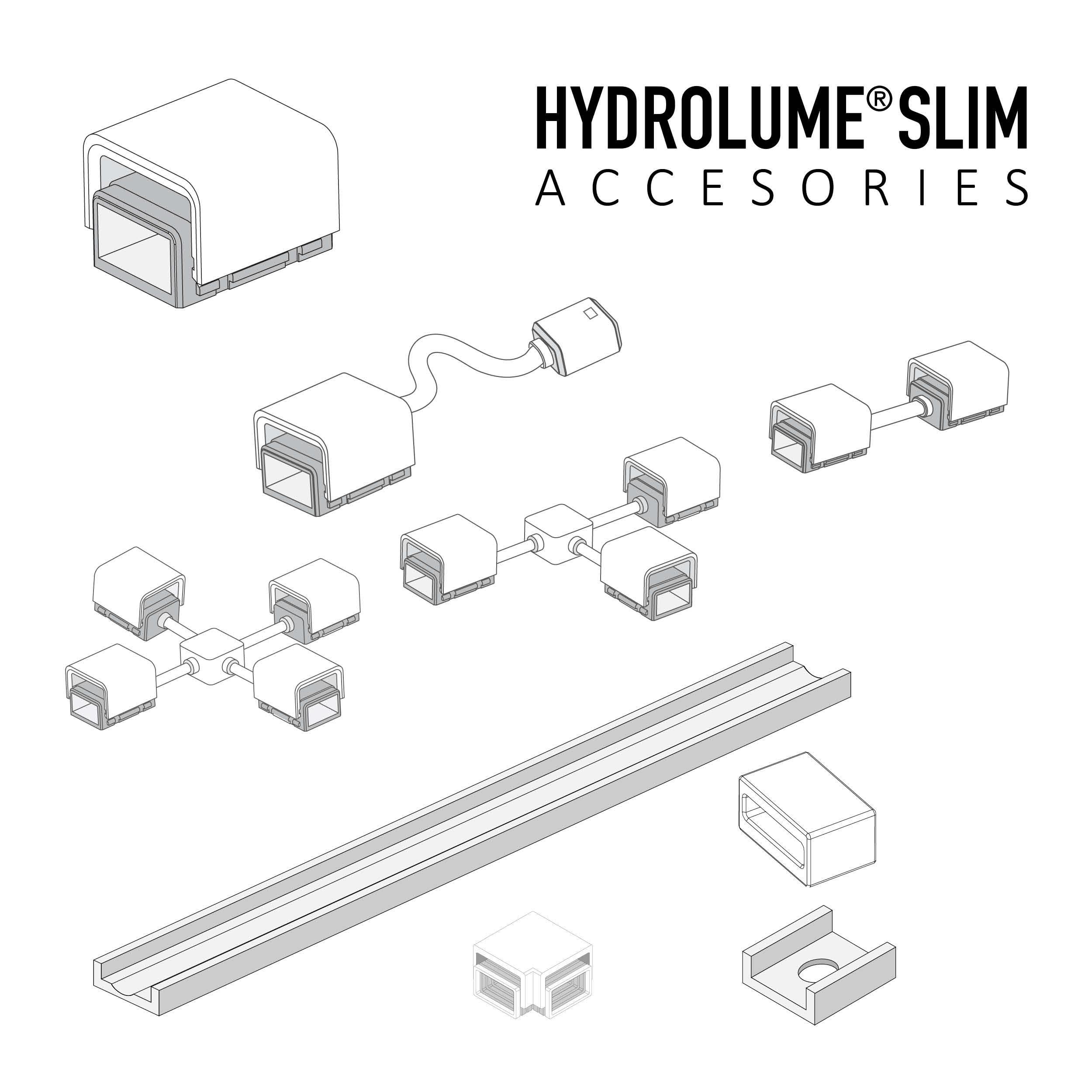 HYDROLUME® SLIM Accessories