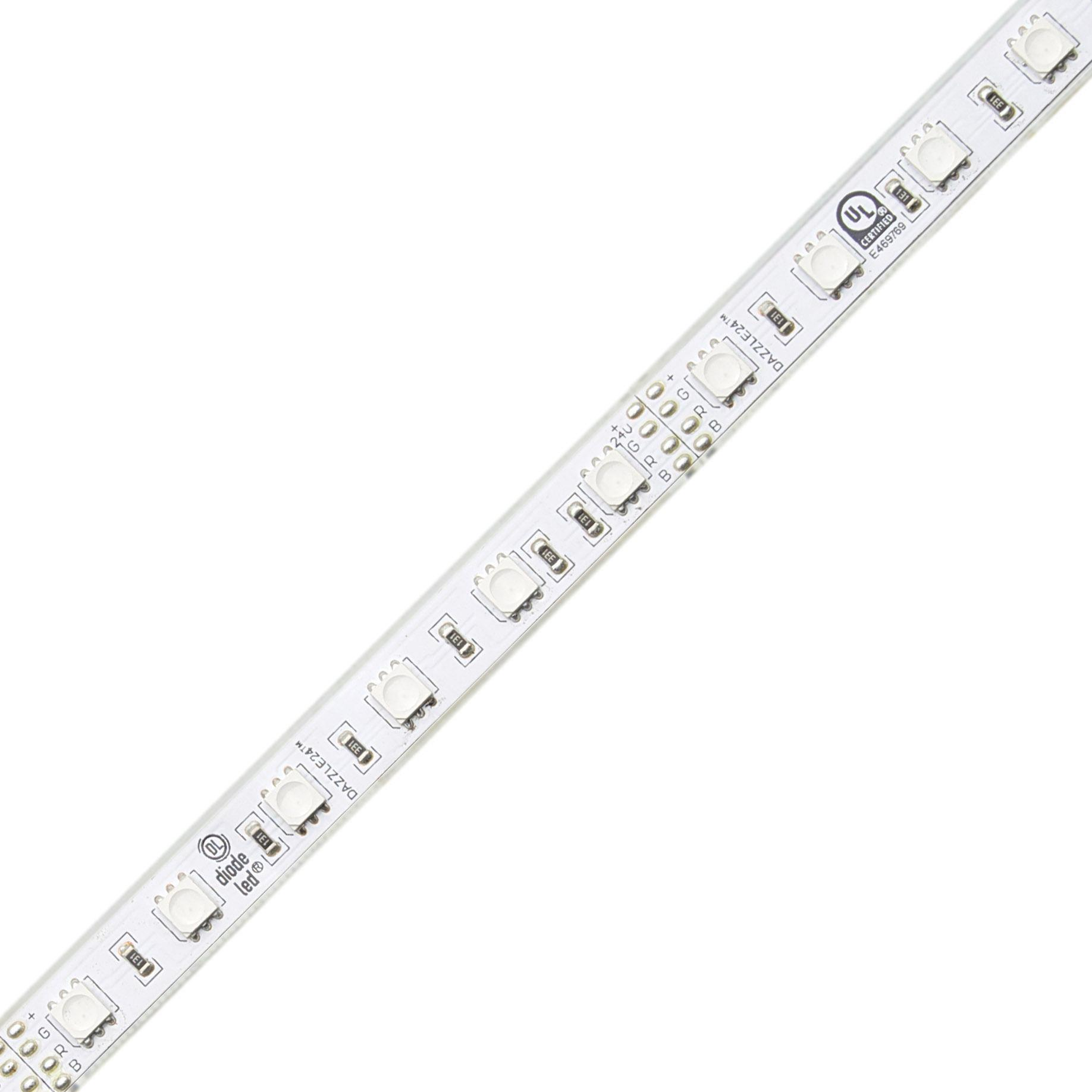 DAZZLE 24® 24V Wet Location RGB LED Strip Light