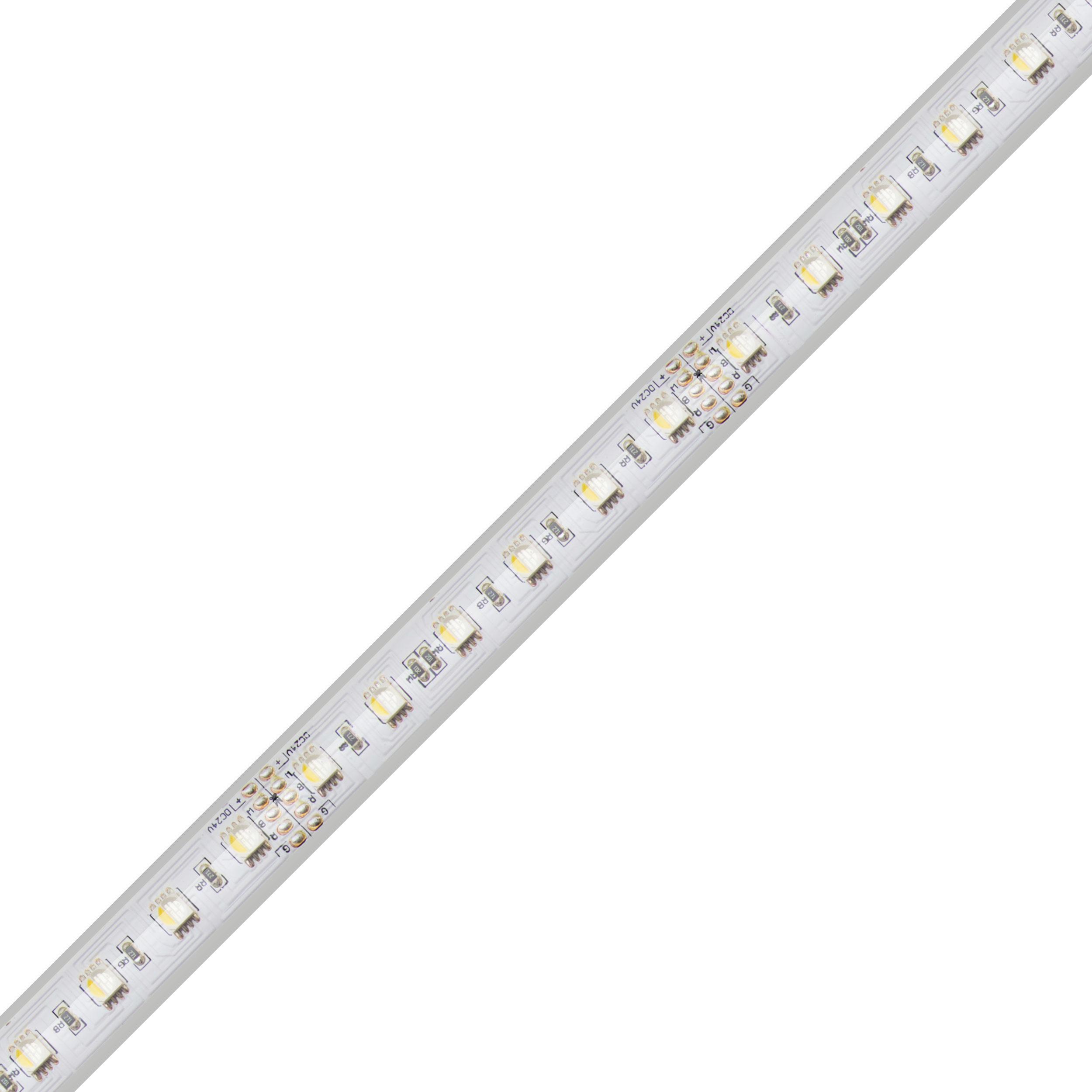 Blaze 12v Wet Location Led Strip: DAZZLE 24® 24V RGBW 4D LED Tape Light
