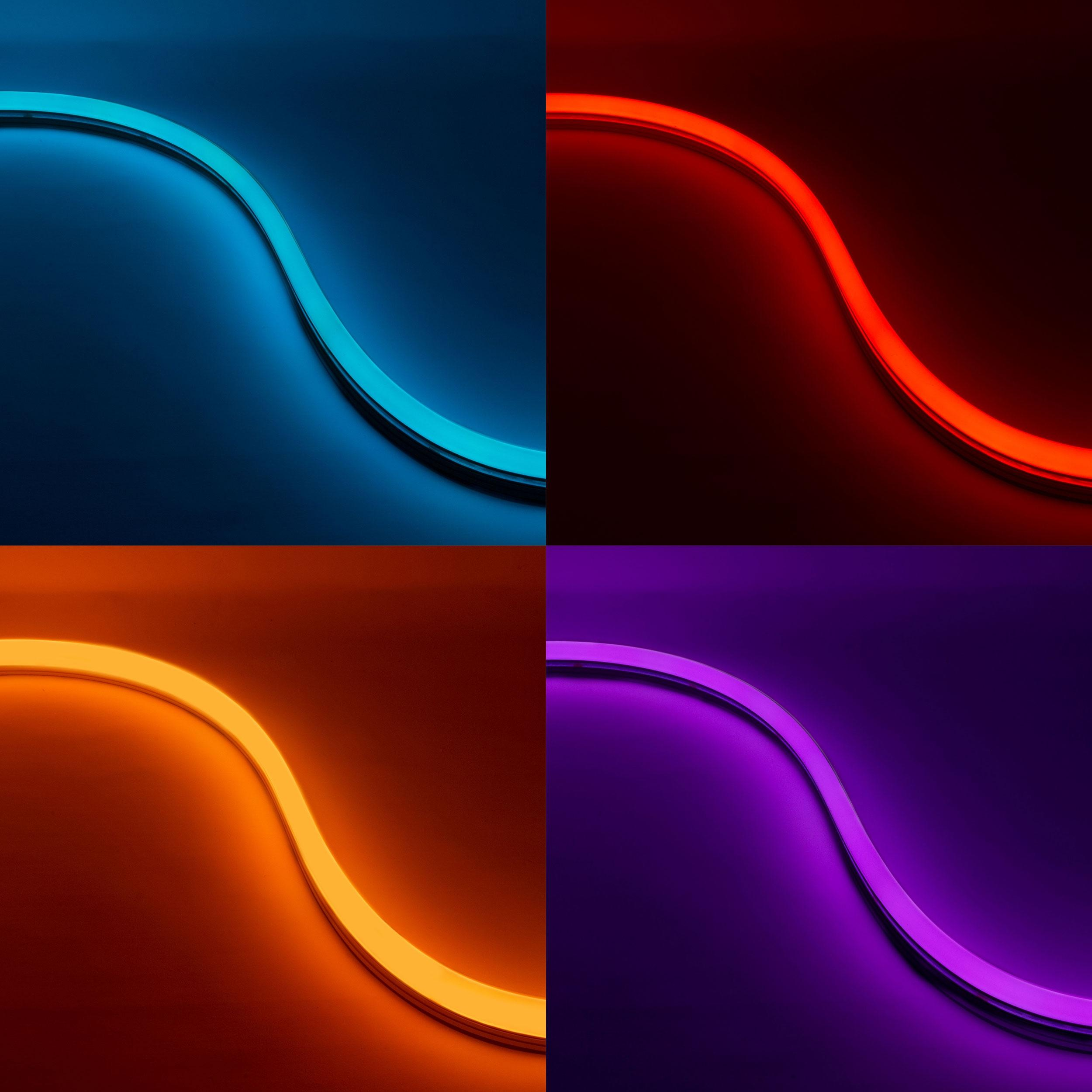 NEON BLAZE™ RGB Diffused linear LED Lighting | Diode LED