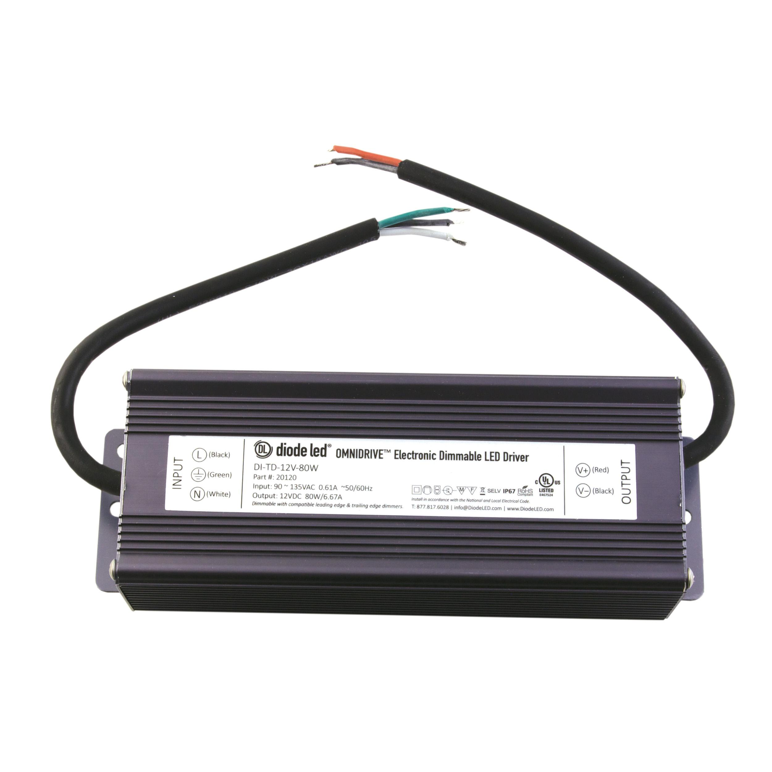 Dimmable Led Power Supplies Omnidrive Electronic Drivers These Are The Pdf Documents Related To 12vdc 120vac Converter