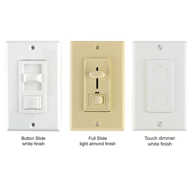 Wall Mounted Lamp With Switch : Dimmable LEDs - Electronic Low Voltage Dimmers - REIGN LED Dimmer Switches Diode LED