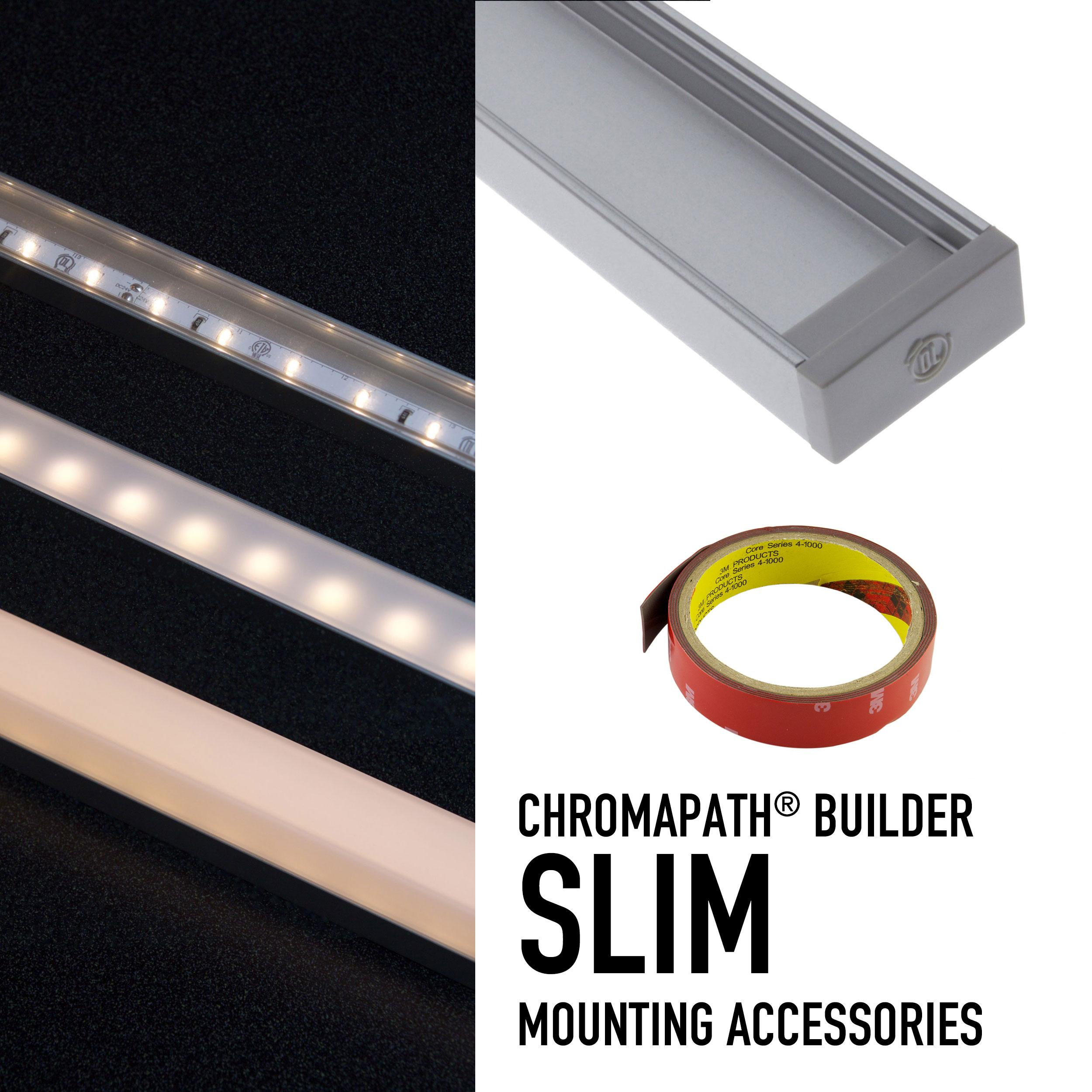 CHROMAPATH® Builder Channel Accessories - SLIM