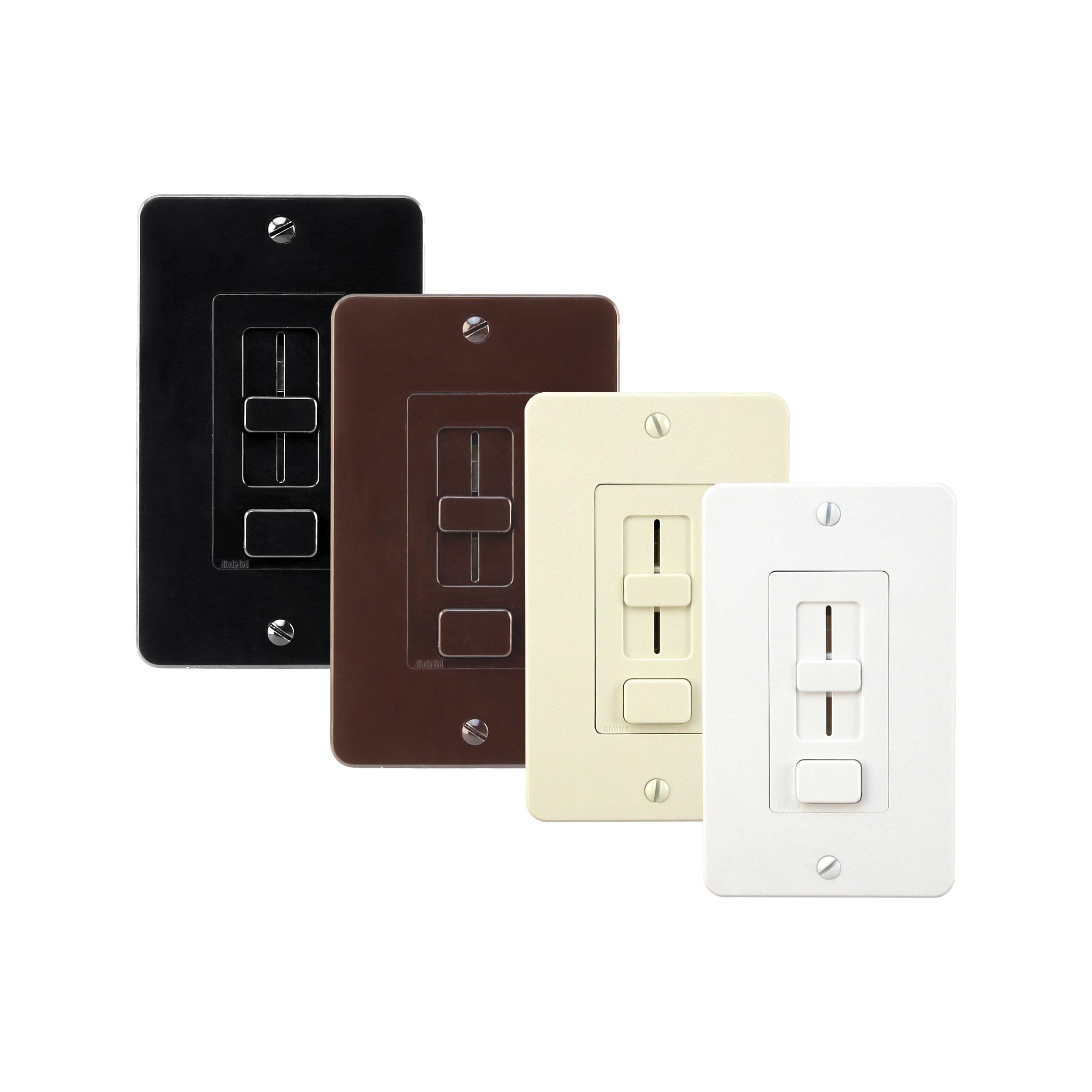 wall switch accessory swithex trim plates diode led. Black Bedroom Furniture Sets. Home Design Ideas