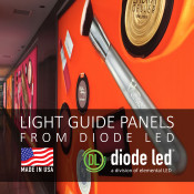 DIODE LED LIGHT GUIDE PANEL