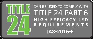 Diode LED - Title 24 Part 6 - JA8