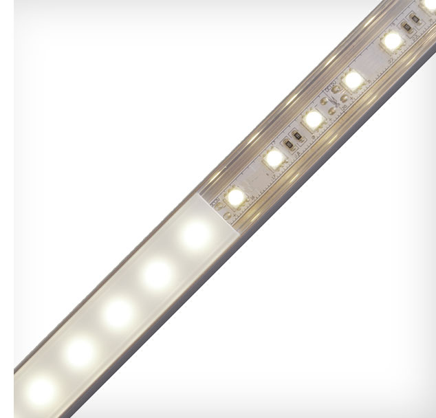 Protect And Provide Light Diffusion For Led Tape Lights