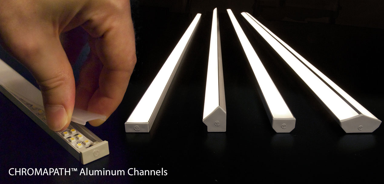 Chromapath Channels For Custom Led Fixtures Diode Led