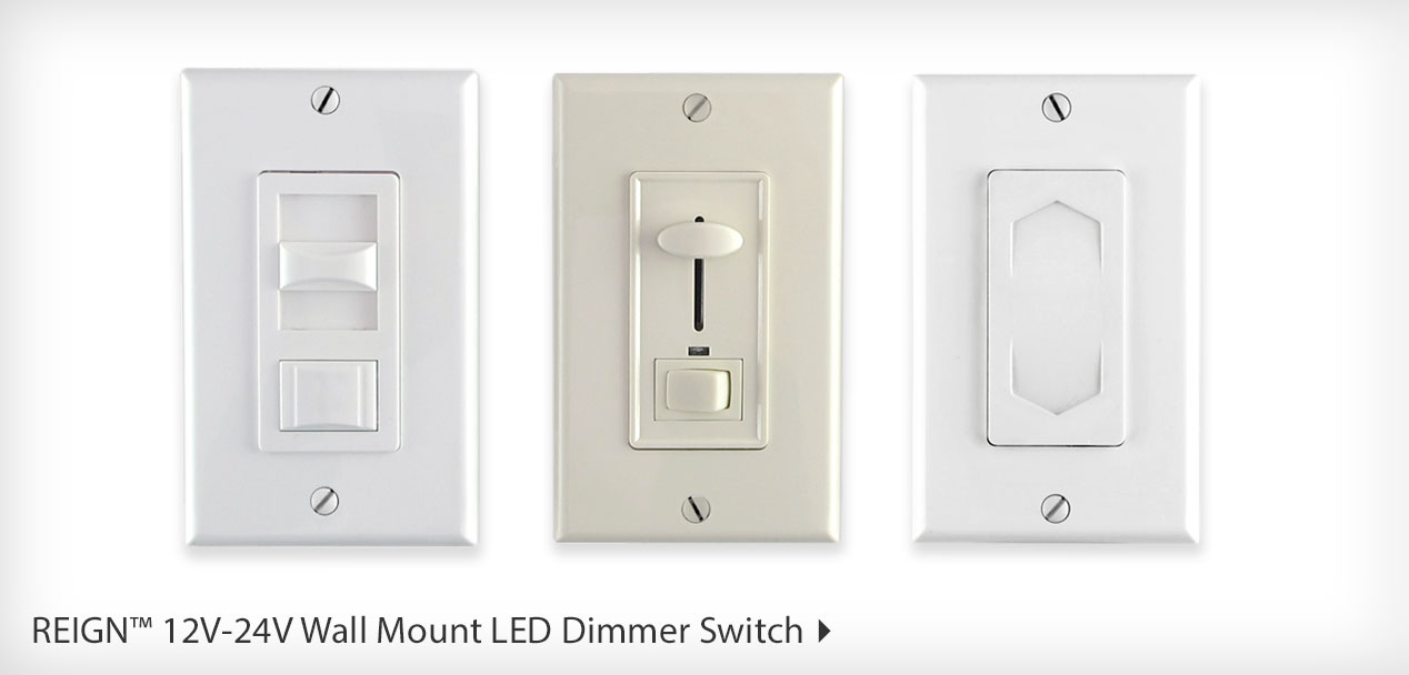LED Switches, Dimmers, and Color Controllers | Diode LED