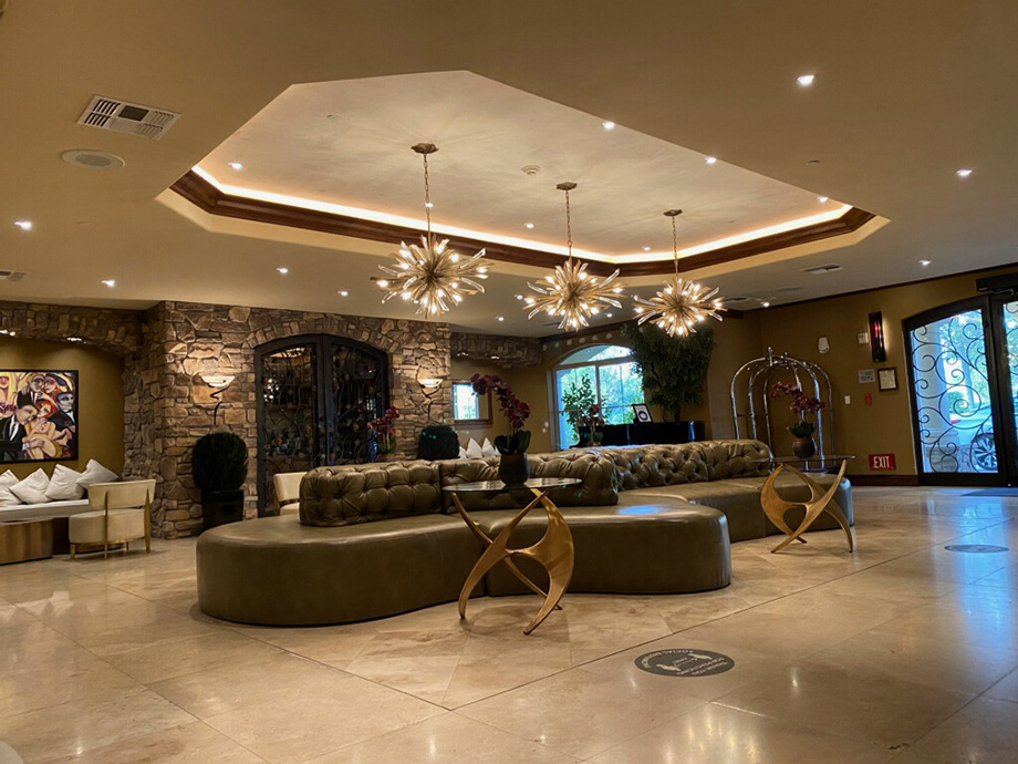 Hotel La Bellasera Lobby Radiance (Paso Robles, CA)
